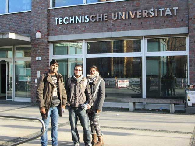 A Germany-visit by Dev sir