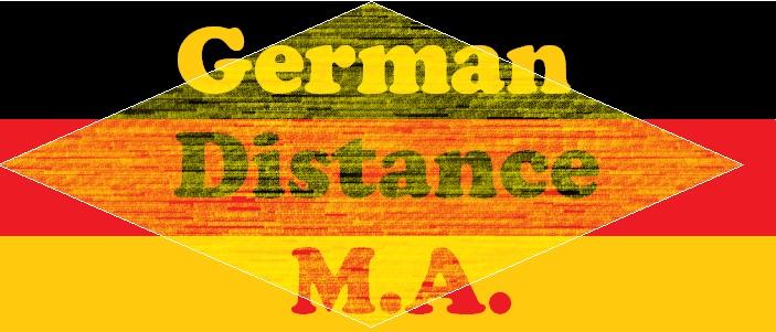 MA German (Distance