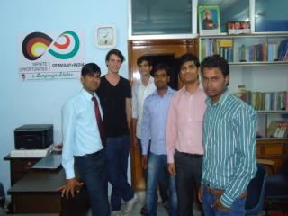 Dev sir with German guest at ELS