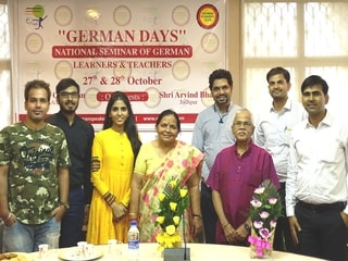 E Language Studio Team with Prof. Dr. Pawan Surana and Prof. V. Ganeshan