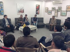 Meeting at Media Foundation