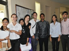 With Amity Uni. Foreign Language Faculties