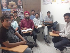 A1 Students at Class Room-1
