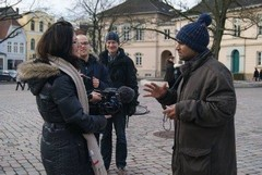Deutsche Welle ( German TV ) Interviewed Devkaran Sir-2