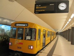 U-Bahn (German Railway) in Germany