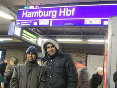 In Hamburg in Germany