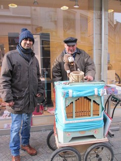 Street Singer in Oldenburg