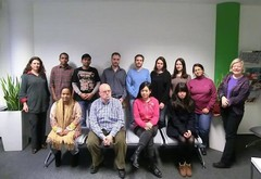 Classmates from 9 Countries during C1 in Goethe Institut, Bonn